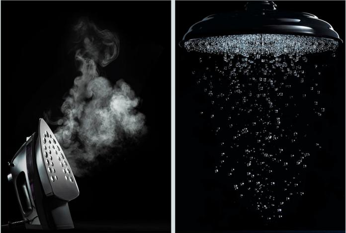 Annabelle Breakey - Still life - iron + shower