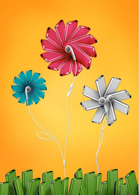Annabelle Breakey - Still life - shuffle flowers
