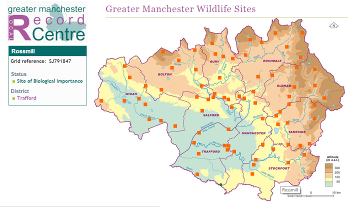 Greater Manchester Wildlife Sites