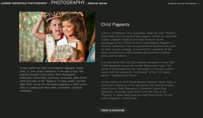 laurengreenfield - editorial- child pageants