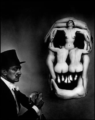 "USA. New York City. 1951. Salvador DALI. ""In Volupate Mors."""
